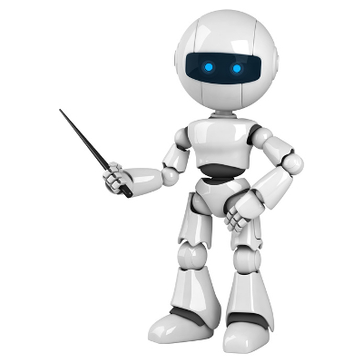 When Online Teaching Assistants are Really Robots in Disguise